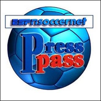 PressPass - Image: ESPN Soccernet Press Pass (logo)