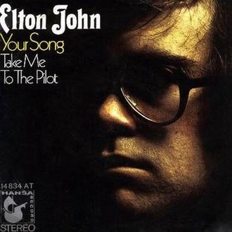 Your Song - Image: Elton john your song (2)