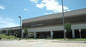 Edmond Memorial High School - Main entrance