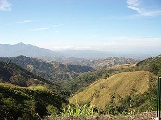 Esparza (canton) - Image: Esparza Country