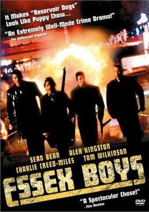 Essex Boys - DVD cover image