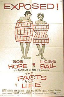 Facts of Life Poster - Movie w/ Lucille Ball and Bob Hope