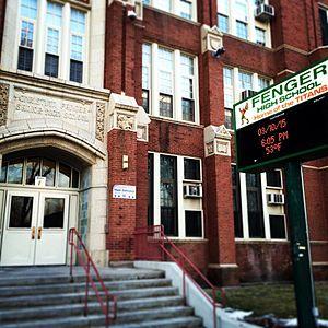 Fenger Academy High School (Chicago) - Image: Fenger High School Chicago