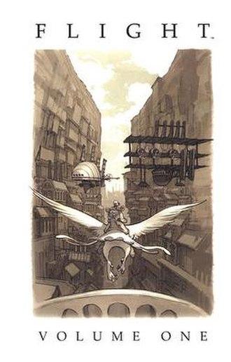 Flight (comics) - Cover of Flight Volume 1