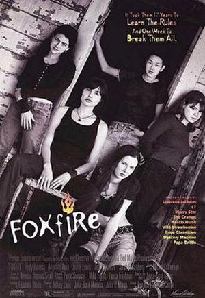 Foxfire (1996 film) - Promotional film poster