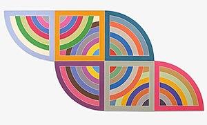 Frank Stella - Frank Stella Harran II 1967