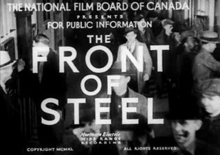 <i>The Front of Steel</i> 1940 short film