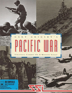 <i>Gary Grigsbys Pacific War</i> 1992 video game