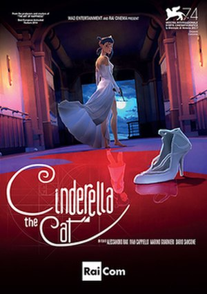Cinderella the Cat - Italian film poster