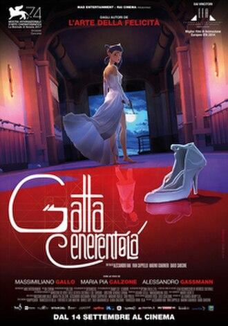 Cinderella the Cat - Italian film poster