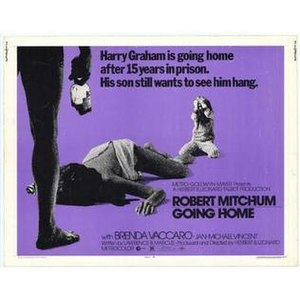 Going Home (1971 film) - Theatrical release poster