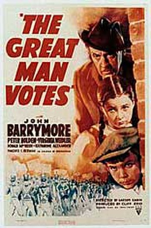 The Great Man Votes - theatrical poster