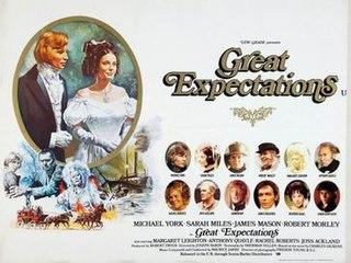 <i>Great Expectations</i> (1974 film) 1974 US/UK drama film by Joseph Hardy