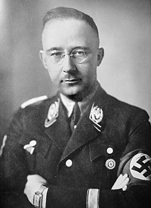 Reichsführer-SS - Heinrich Himmler, the longest serving and best known Reichsführer-SS