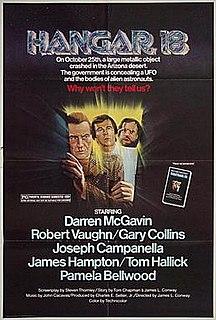 <i>Hangar 18</i> (film) 1980 film by James L. Conway