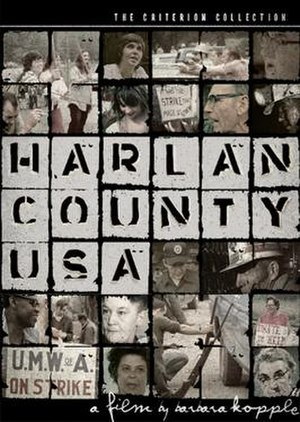 Harlan County, USA - The Criterion Collection DVD cover