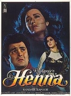 <i>Henna</i> (film) 1991 film by Randhir Kapoor