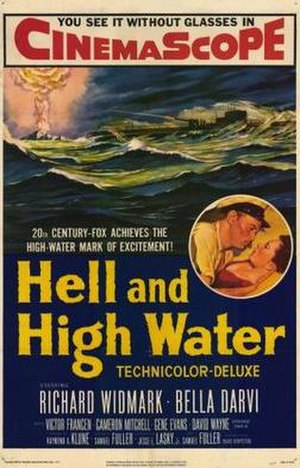Hell and High Water (film) - Theatrical release poster
