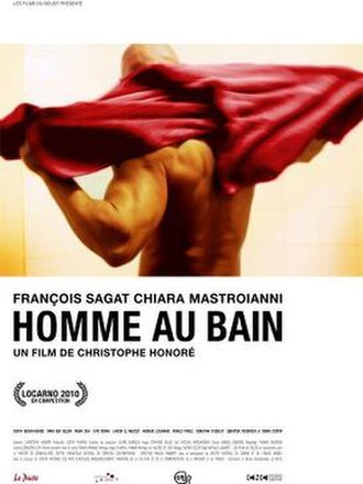 Man at Bath - Image: Homme au bain christophe honore