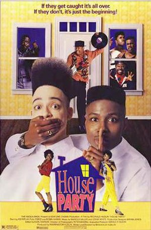 House Party (film) - Theatrical release poster