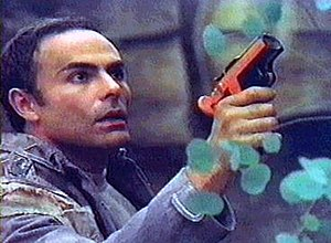 Dylan Hunt - John Saxon as Captain Anthony Vico in Strange New World.