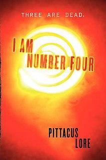 <i>I Am Number Four</i> 2010 novel by James Frey