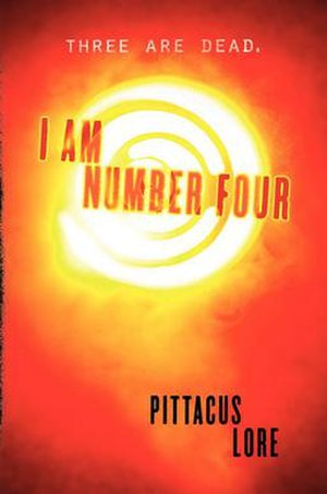I Am Number Four - The American cover of I Am Number Four: Book 1