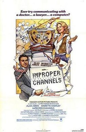 Improper Channels - Theatrical release poster