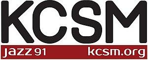 KCSM (FM) - Image: KCSM jazz 91 logo