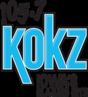 KOKZ - Image: KOKZ 105.7KOKZ logo
