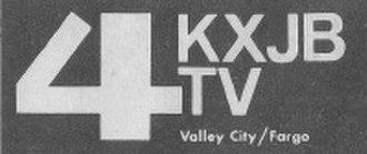 KRDK-TV - KXJB-TV logo for part of the 1970s and 1980s.