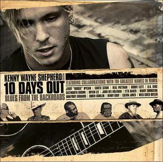 10 Days Out: Blues from the Backroads - Image: Kenny Wayne Shepherd 10 Days Out Cover