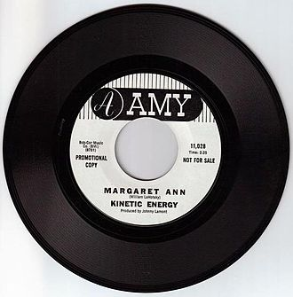 Amy Records - DJ copy of Kinetic Energy 1969 Amy 45