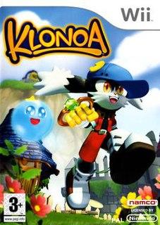 <i>Klonoa</i> (2008 video game) 2008 platform game developed by Paon, remake of Klonoa: Door to Phantomile