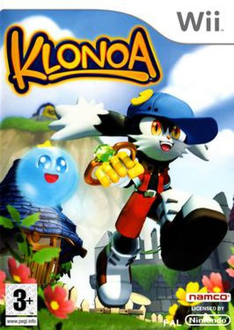 Klonoa (2008 video game) - Image: Klonoa front cover