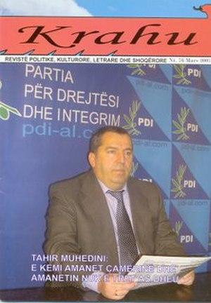 "Krahu i shqiponjës - ""Krahu i Shqiponjës"", interview with Tahir Muhedini."