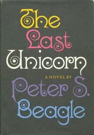 The Last Unicorn - First edition dust jacket (Viking, 1968)