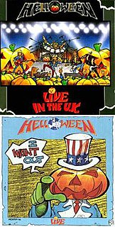 <i>Live in the U.K.</i> 1989 live album by Helloween