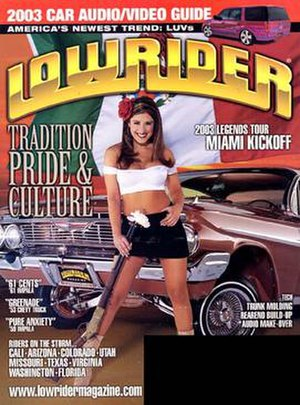 Lowrider (magazine) - August 2003 issue of Lowrider Magazine