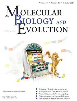 Molecular Biology and Evolution - Image: MBE vol 34 issue 10 web