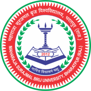 Maharaja Surajmal Brij University, Bharatpur - Image: Maharaja Surajmal Brij University, Bharatpur logo