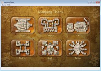Microsoft Mahjong - Image: Mahjong Titans 7