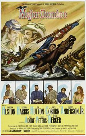 Major Dundee - Theatrical release poster