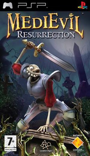 MediEvil: Resurrection - European cover art