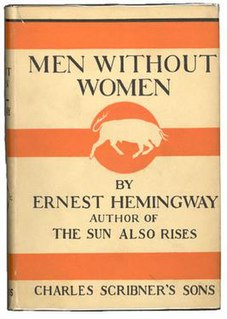<i>Men Without Women</i> (short story collection) book by Ernest Hemingway