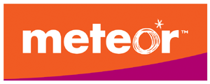 Meteor (mobile network) - Briefly used Meteor logo variant (2005–2007)