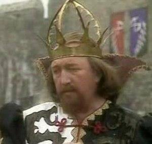 Miraz - Robert Lang as Miraz in the BBC serial