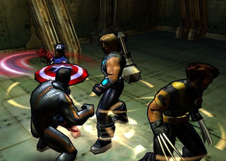 Marvel: Ultimate Alliance - During early development, Ultimate Alliance was cel shaded.
