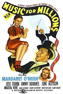 <i>Music for Millions</i> 1944 film by Henry Koster