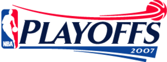 2007 NBA playoffs - Image: NBA 2007 Playoffs logo